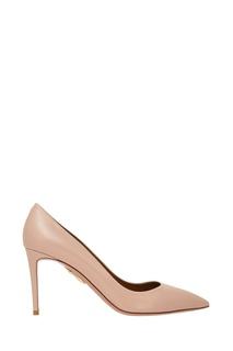Кожаные туфли Simple Irresistible Pump 85 Aquazzura