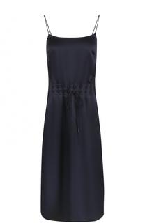 Приталенное платье-комбинация DKNY