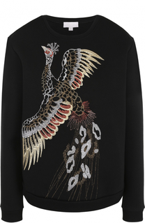 Свитшот с вышивкой в виде птицы Escada Sport