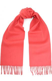 Кашемировый шарф с бахромой Colombo