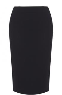 Однотонная юбка-карандаш Armani Collezioni