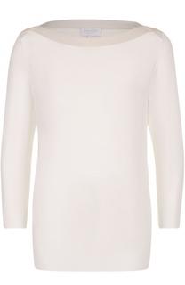 Пуловер с укороченным рукавом и вырезом-лодочка Escada Sport