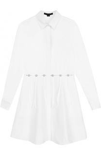 Удлиненная приталенная блуза Alexander Wang