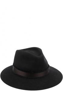 Фетровая шляпа с лентой Maison Michel