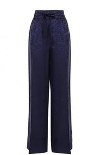 Широкие брюки с эластичным поясом и стрелками Elizabeth and James
