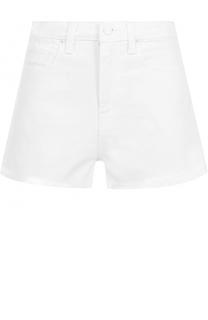 Джинсовые мини-шорты с потертостями Denim X Alexander Wang