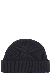 Шерстяная шапка фактурной вязки Lanvin