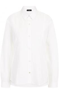 Хлопковая блуза свободного кроя Clu