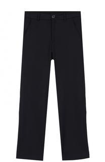 Однотонные брюки прямого кроя Aletta