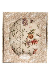 Скатерть с кружевом 146х146 Трехгорная мануфактура