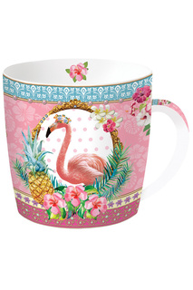 "Кружка ""Фламинго"" 350 мл Nuova R2S S.p.A."