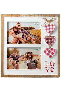 Фоторамка Любовь для 2-х фото Русские подарки