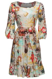 Платье с принтом Blugirl