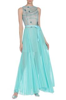 Платье с поясом Von Vonni