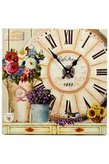 """Часы """"Летние цветы"""" 40х40 см Русские подарки"""