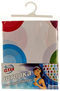 Шторка для ванной White Clean