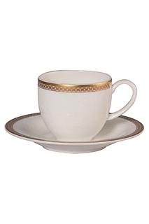 Набор кофейных пар 100 мл, 6шт Royal Porcelain Co