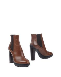 Полусапоги и высокие ботинки Tod`S