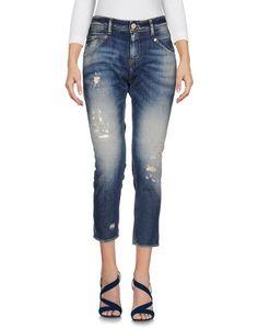 Джинсовые брюки-капри Meltin POT