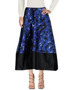 Длинная юбка Jil Sander Navy