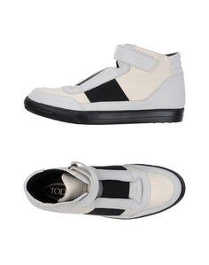 Высокие кеды и кроссовки Tod`S