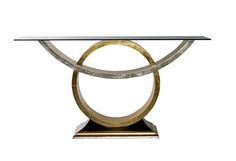 Консоль со стеклом Garda Decor