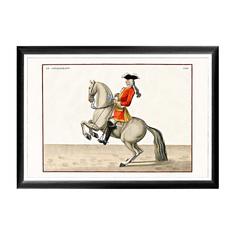 Арт-постер «Верховая езда, Урок № 3» Object Desire