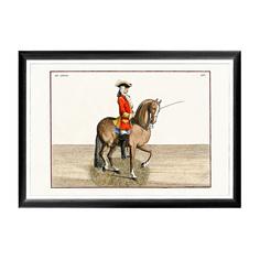 Арт-постер «Верховая езда, Урок № 2» Object Desire