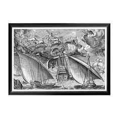 Арт-постер «Брейгель: Дух войны меж двумя галерами» Object Desire