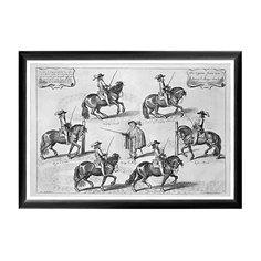Арт-постер «Новейший метод конного искусства», гравюра 2 Object Desire