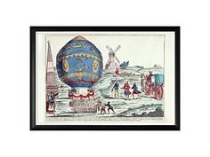 Картина «Монгольфье, 21 ноября 1783» Object Desire