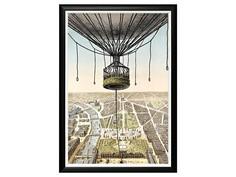 Картина «Париж с высоты птичьего полета» Object Desire