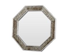 """Зеркало ручной работы """"Старинное серебро"""" (вогнуто внутрь) B Home"""