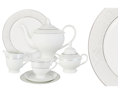 """Чайный сервиз 40 предметов на 12 персон  """"Мелисента"""" Emerald"""