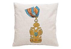 Декоративная подушка «Орден Железной короны, Ломбардия» Object Desire