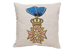 Декоративная подушка «Орден военных заслуг, Германия» Object Desire