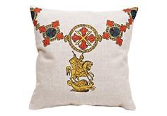 Декоративная подушка «Орден Св. Георгия, Италия» Object Desire