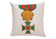 Декоративная подушка «Королевский Венгерский орден Святого Стефана» Object Desire