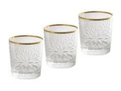 "Набор стаканов для виски ""Умбрия - золото"" (6 шт) Same"