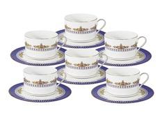 "Чайный набор ""Флагман"" 6 чашек + 6 блюдец Naomi"