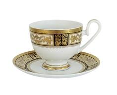 "Чашка с блюдцем ""Елизавета"" Midori"