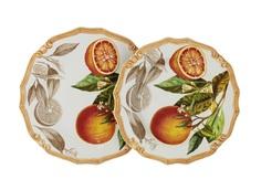 "Набор тарелок ""Апельсины"" LCS"