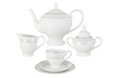 """Чайный сервиз 21 предмет на 6 персон """"Мелисента"""" Emerald"""