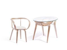 "Обеденная группа ""Apriori"" (стол + 4 стула) Actual Design"