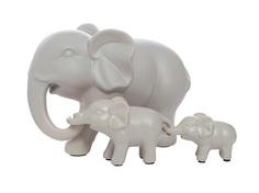 """Статуэтка """"Набор слонов"""" (3 шт) Garda Decor"""