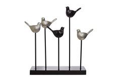 "Статуэтка ""5 птиц"" 43х6х50 Garda Decor"