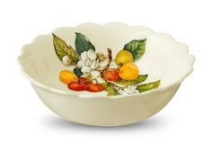 """Тарелка суповая """"Итальянские фрукты"""" Nuova Cer"""