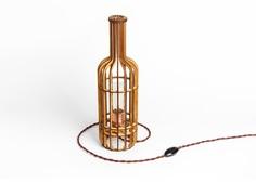 """Деревянный светильник """"Бутылка Вина"""" Albero"""