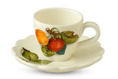 """Чашка с блюдцем """"Итальянские фрукты"""" Nuova Cer"""