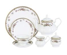 """Чайный сервиз 40 предметов на 12 персон """"Изабелла"""" Emerald"""
